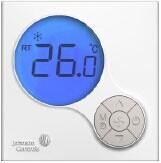 江森T6000液晶数字式风机盘管温控器