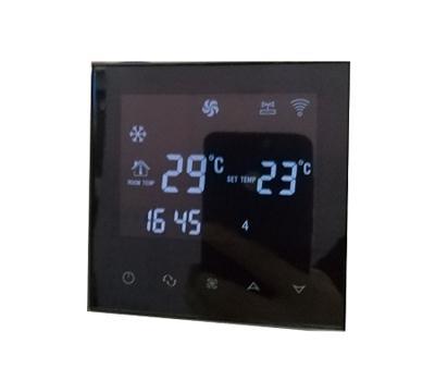 珀蓝特WIFI风机盘管液晶温控器