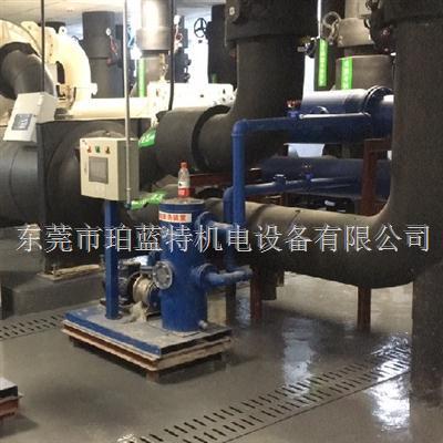 空调冷凝器铜管小球自动清洗装置